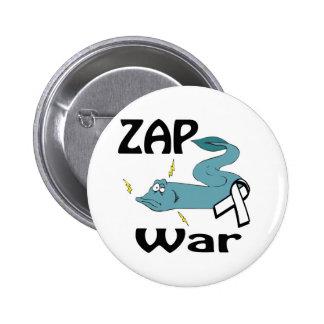 ZAP la guerra Pin Redondo 5 Cm