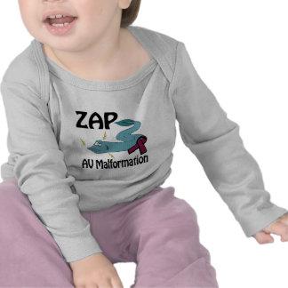 ZAP la malformación del sistema de pesos americano Camiseta