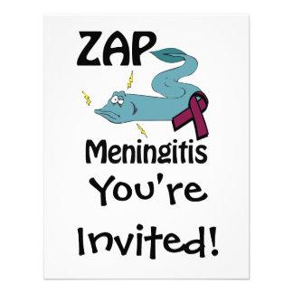 ZAP la meningitis Invitación Personalizada