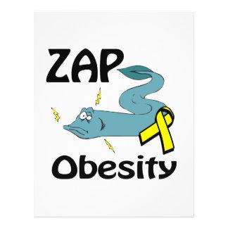 "ZAP la obesidad Folleto 8.5"" X 11"""