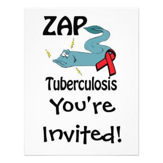 ZAP la tuberculosis Invitaciones Personalizada