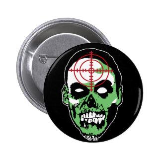 ZAP_logo_head Pin Redondo De 2 Pulgadas