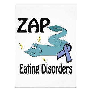 ZAP los trastornos alimentarios Invitaciones Personalizada