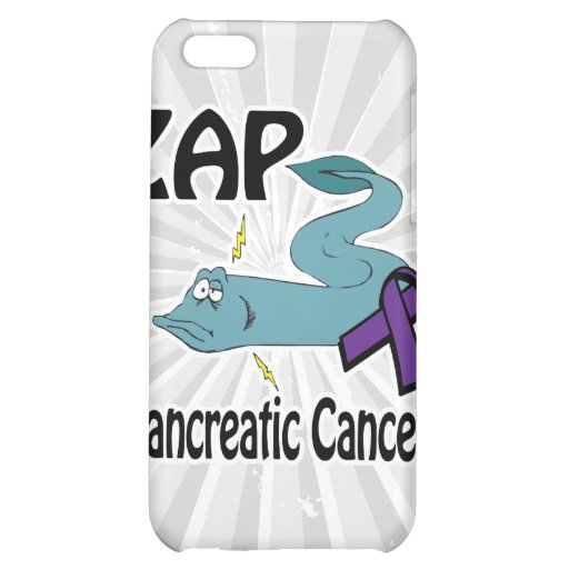 ZAP Pancreatic Cancer iPhone 5C Cover