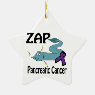 ZAP Pancreatic Cancer Ornament