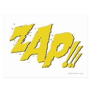 ZAP!!! POSTCARD