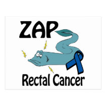 ZAP Rectal Cancer Postcard