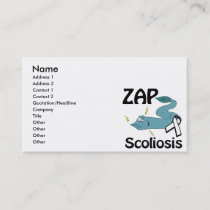 ZAP Scoliosis Business Card