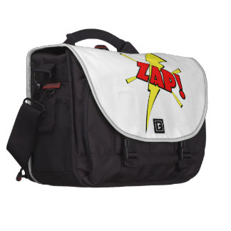 Zap sfx del dibujo animado bolsa para ordenador