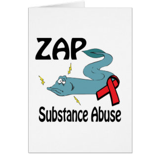 ZAP Substance Abuse Card