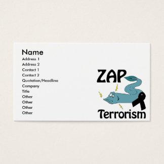 ZAP Terrorism Business Card