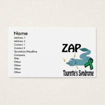 ZAP Tourettes Syndrome Business Card