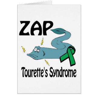 ZAP Tourettes Syndrome Card