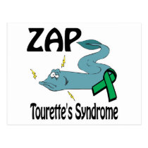 ZAP Tourettes Syndrome Postcard