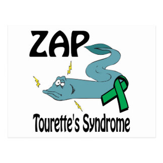 ZAP Tourettes Syndrome Postcard