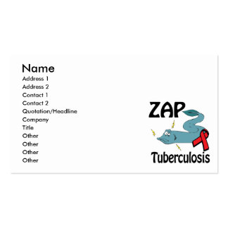 ZAP Tuberculosis Business Cards