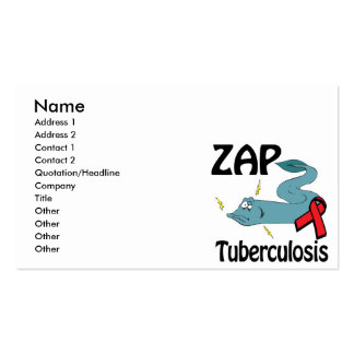 ZAP Tuberculosis Business Card Templates