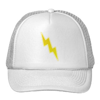 Zap - Yellow Lightning Bolt Trucker Hat