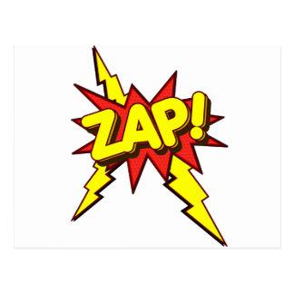 Zap, Zing, Pow! Postcard