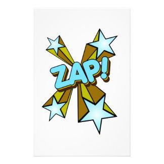 Zap, Zing, Pow! Stationery Paper