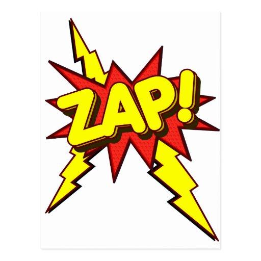 ¡Zap, Zing, prisionero de guerra! Postales