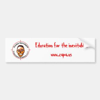 ZAPA Bumper Sticker