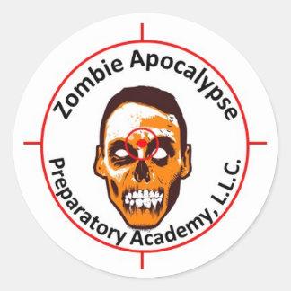 ZAPA Products Classic Round Sticker