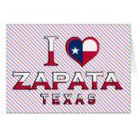 Zapata, Texas Card