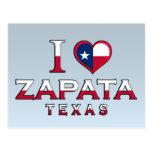 Zapata, Texas Postcard