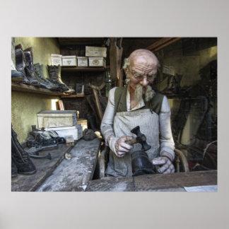 Zapatero del pueblo fantasma - Virginia City - Mon Póster