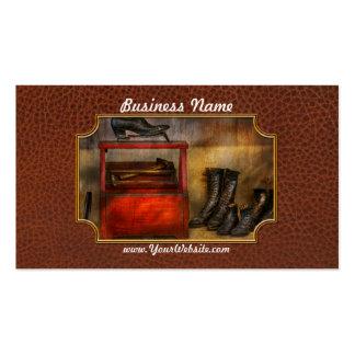 Zapatero - vida del zapatero tarjetas de visita