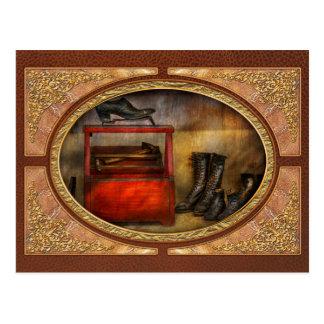 Zapatero - vida del zapatero tarjetas postales