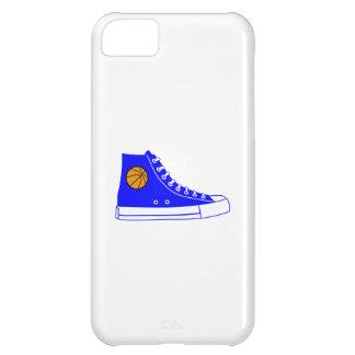 Zapatilla de deporte azul del baloncesto