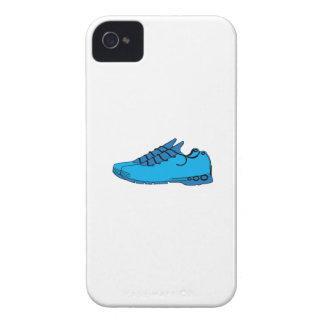 Zapatillas de deporte azules Case-Mate iPhone 4 protectores