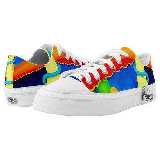 Zapatillas de deporte coloridas del arte moderno