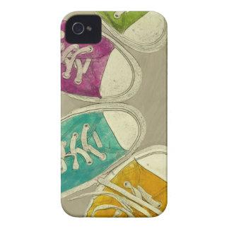 zapatillas de deporte funda para iPhone 4 de Case-Mate