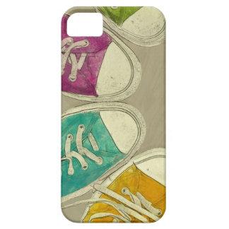 zapatillas de deporte funda para iPhone SE/5/5s
