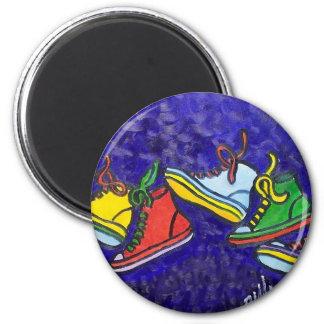 Zapatillas de deporte imán redondo 5 cm