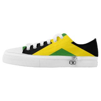 Zapatillas de deporte jamaicanas de la bandera