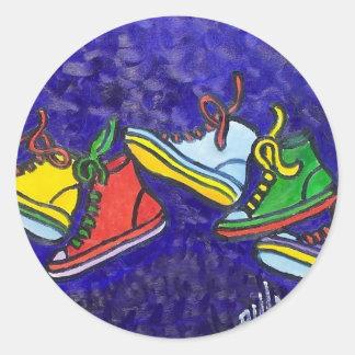 Zapatillas de deporte pegatina