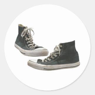 Zapatillas de deporte pegatina redonda