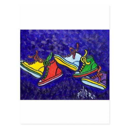 Zapatillas de deporte postal