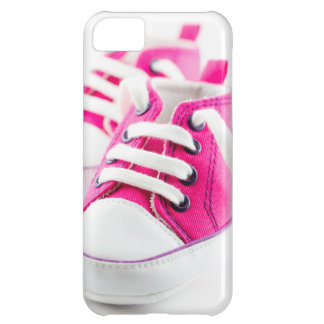 Zapatillas de deporte rosadas de los zapatos de la