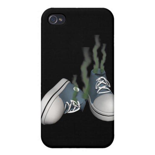 Zapatillas de deporte sucias iPhone 4/4S carcasas