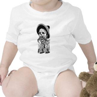 Zapatista Calavera c early 1900 s Mexico Baby Creeper