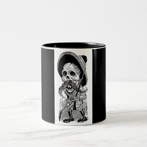 Zapatista  Calavera. c. early 1900's. Mexico. Coffee Mug