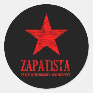 Zapatista Classic Round Sticker