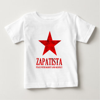 Zapatista Peace Baby T-Shirt