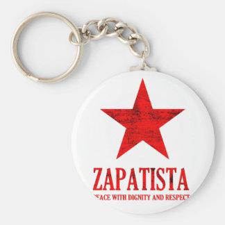 Zapatista Peace Keychain