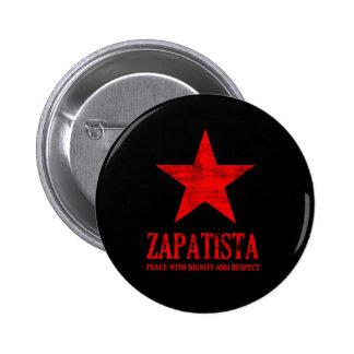 Zapatista Pin Redondo 5 Cm